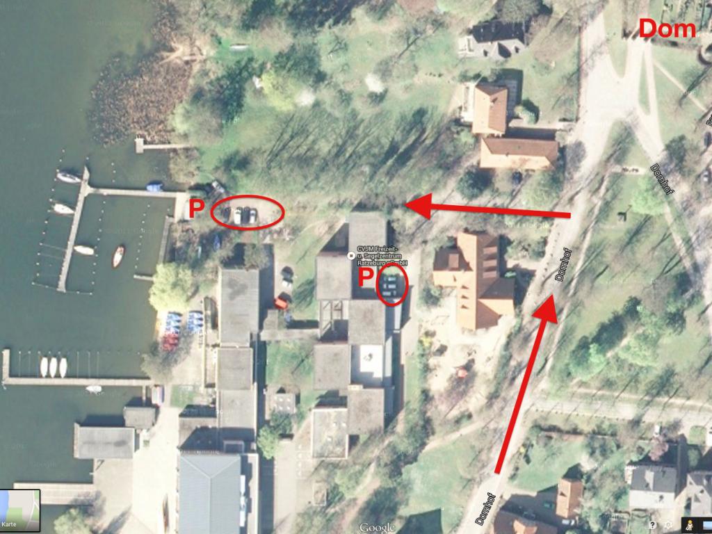 Parken Segelzentrum Ratzeburg