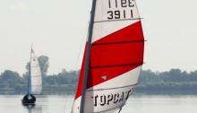 Unser Topcat K3 im Jahr 2010 auf dem Dümmer See