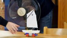 Lego-Segelboot